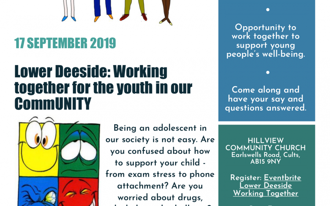 17th September: multi-agency event – Working Together for the Youth in Our Community